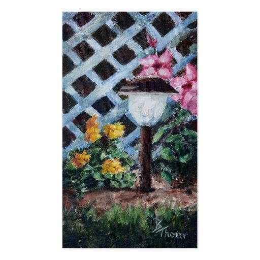 Nights Garden Art Card