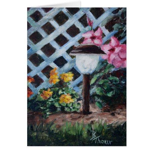 Night's Garden Blank Card