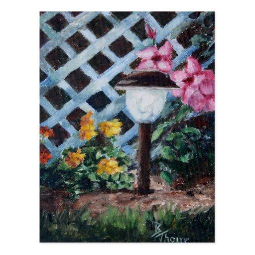 Night's Garden Postcard