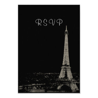 Nights in Paris RSVP Personalized Invites