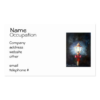 Night's Light Business Card Template