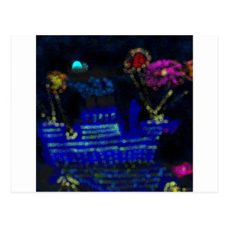 Nightscape Postcard