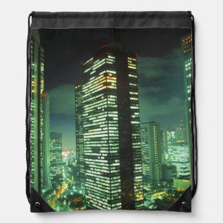 Nightscape, Shinjuku, Tokio, Japón Mochilas