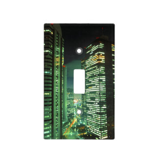 Nightscape, Shinjuku, Tokio, Japón Tapa Para Interruptor