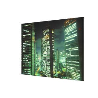 Nightscape, Shinjuku, Tokyo, Japan Canvas Print