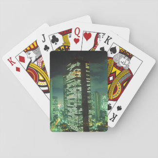 Nightscape, Shinjuku, Tokyo, Japan Playing Cards