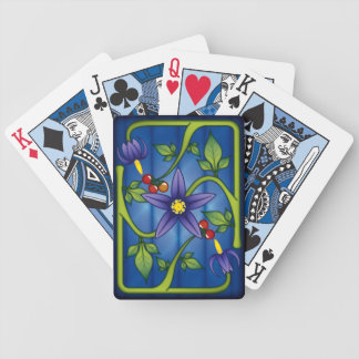 Nightshade Bicycle Playing Cards