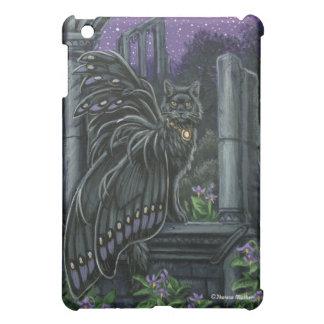 Nightshade Black Fairy Cat iPad Case