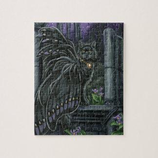 Nightshade Black Fairy Cat Puzzle
