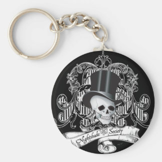 Nightshade Society (Dark colors) Keychain