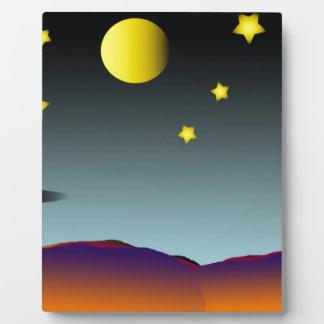 Nightsky Plaque