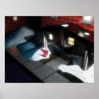 NightSnow2008-01-06 Póster