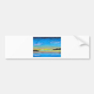 Nightspace on Lake Erie Bumper Sticker