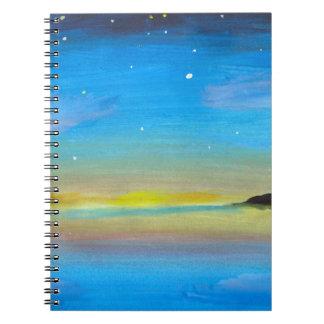 Nightspace on Lake Erie Notebook