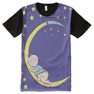 Nighttime AB/Adult Baby/Cute/Baby 4 Life 2016 All-Over-Print Shirt