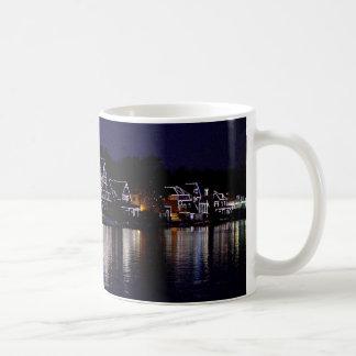 Nighttime at Boat House Row Coffee Mug