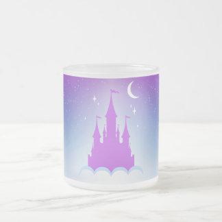 Nighttime Dreamy Castle In The Clouds Starry Sky Mug