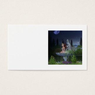 Nighttime Garden Fairy Business Card