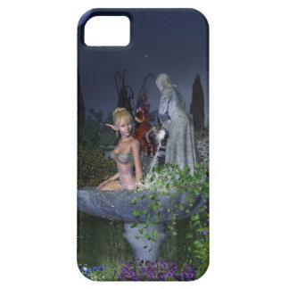 Nighttime Garden Fairy iPhone 5 Covers