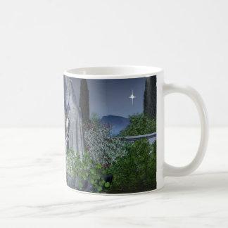 Nighttime Garden Fairy Coffee Mug