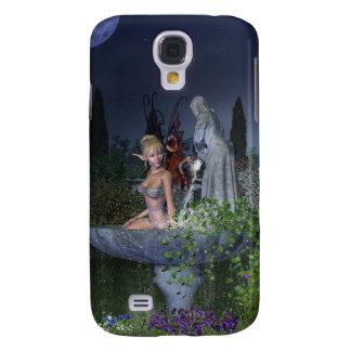 Nighttime Garden Fairy Galaxy S4 Case