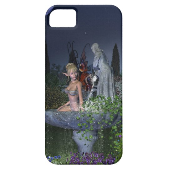 Nighttime Garden Fairy iPhone SE/5/5s Case