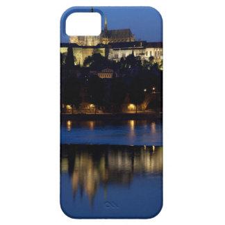 Nighttime in Prague, Czech Republic iPhone 5 Covers