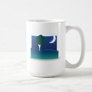 Nighttime Landscape Coffee Mug