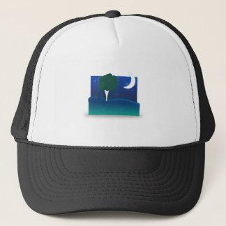 Nighttime Landscape Trucker Hat