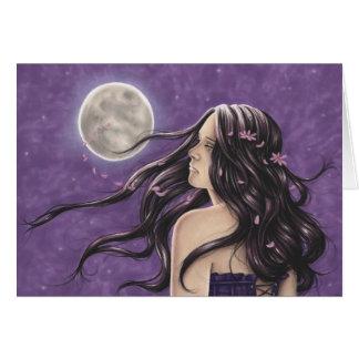Nighttime Melancholy Greeting Card