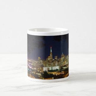 Nighttime Panorama Skyline of San Francisco Coffee Mug