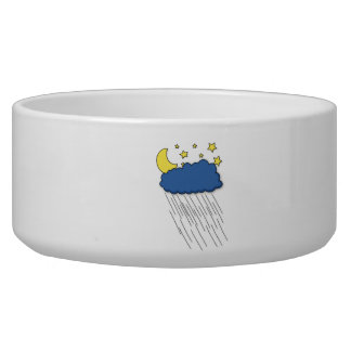 Nighttime Rain Pet Bowl