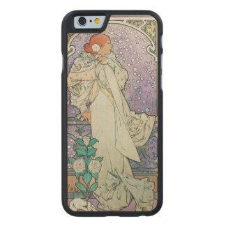 nighttime stars carved® maple iPhone 6 slim case