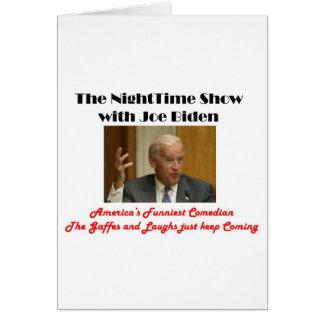 NightTime with Joe Biden Card