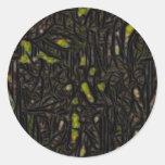 NightWash Round Sticker