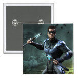 Nightwing 2 Inch Square Button