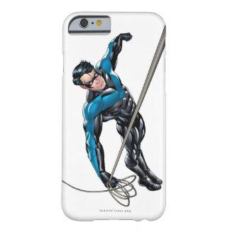 Nightwing con la cuerda funda de iPhone 6 barely there
