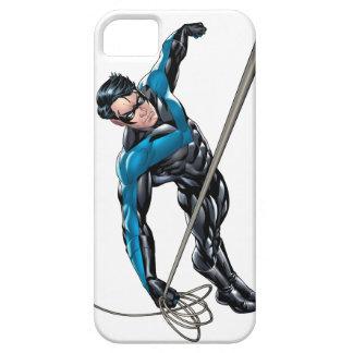 Nightwing con la cuerda iPhone 5 Case-Mate funda
