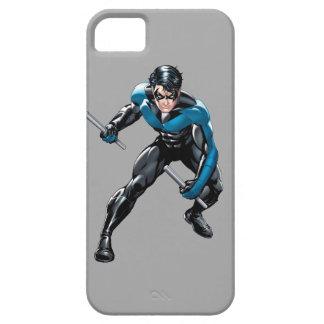 Nightwing con las armas iPhone 5 fundas