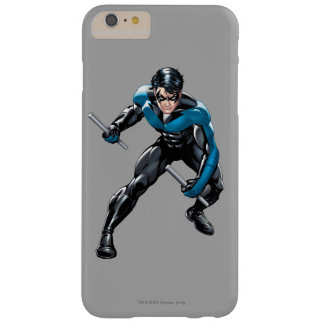 Nightwing con las armas funda de iPhone 6 plus barely there