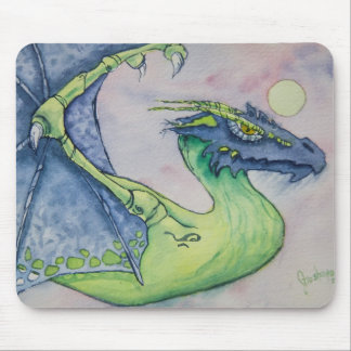 Nightwing Dragon Mouse Pad