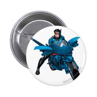 Nightwing en la bici pin