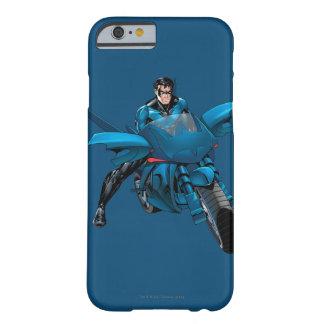 Nightwing en la bici funda de iPhone 6 barely there