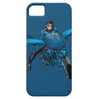 Nightwing en la bici iPhone 5 cárcasas