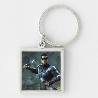 Nightwing Keychain