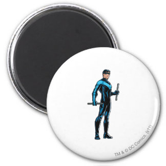 Nightwing looks right refrigerator magnets