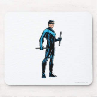 Nightwing looks right mouse pad