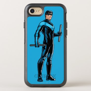 Nightwing looks right OtterBox symmetry iPhone 8/7 case