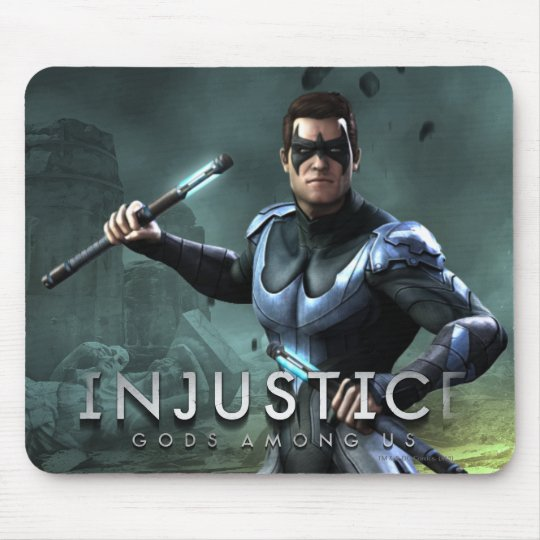 Nightwing Mouse Pad
