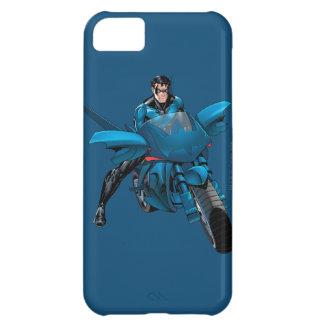 Nightwing on bike iPhone 5C cases